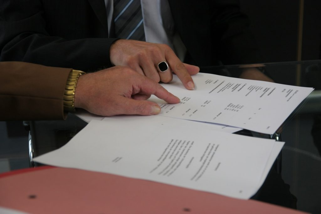Signature d'une promesse de vente